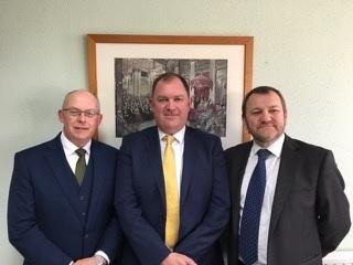 L-R-Duncan-Coleman-CEO,-Rob-Ashburn,-Clive-Galbraith-Chairman,-Green-Insurance-Brokers