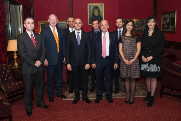 Lockton -Front-row,-left-to-right:-Alan-Corney,-Paul-Jack,-Ahmad-Abdo,-Wael-Khatib,-Lama-Sweis,-Heba-Al-Natour.-Rear-row,-left-to-right:-Mohammad-Majdi-Omar,-David-Way,-Faris-Khatib