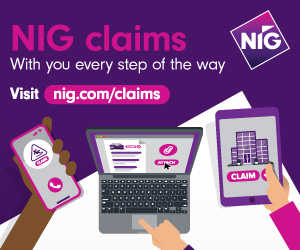 NIG Insurance claims notification campaign April 2021