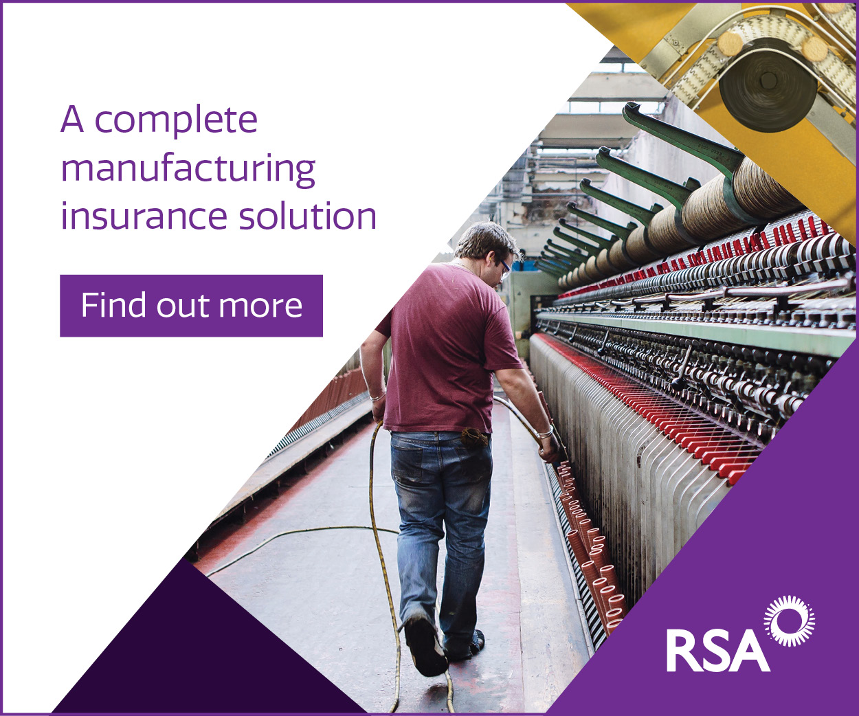 RSA insurance for manufacturing businesses