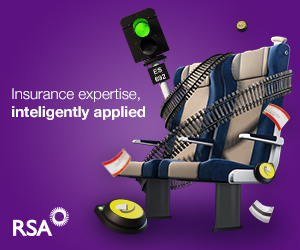 RSA Commercial Insurance Rail Advert