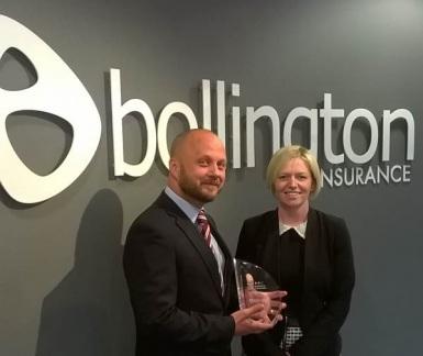 Rob Applin, Bollington Operations Director & Rachel Aston, Bollington Marketing & Communications Director