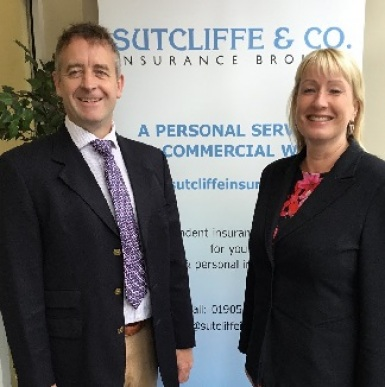 Duncan-Sutcliffe-and-Caroline-Pearson,-Suttclife-& Co-Insurance-Brokers