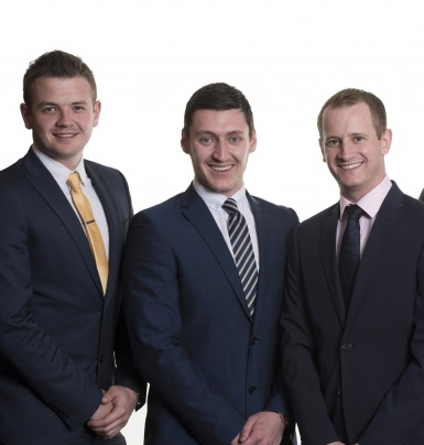 L-to-R:-New-Gauntlet-haulage-insurance-employees-Matthew-Humm-and-Thomas-O'Connell-with-Gauntlet-Director,-Ian-McCarron