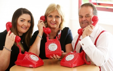 L-R, Roxanne Jones - Claims Executive, Helen Love - Head of Claims, Chris Hackett - Senior Claims Executive - Thomas Carroll Group