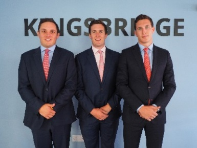 Left-to-right-Liam-Green,-James-Ledingham-and-Thomas-Wynne,-Kingsbridge-Group