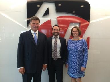 Link Event - Julian James - CEO, Allied World Global Markets, Erik Johnson (Honorary Secretary of Link) and Inga Beale, CEO, Lloyd's of London