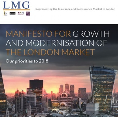 Manifesto for Growth and modernisation of the London Market