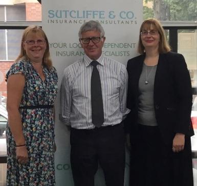 l-r, Jane Gilbert, Richard Sutcliffe and Carolyn Price - Sutcliffe & Co
