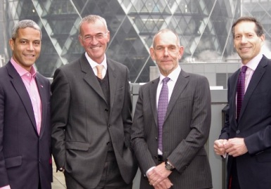 Directors-of-Vizion-Insurance-Brokers-(L/R)-Jerry-Guscott-(Development-Director)-John-Sims-(Managing-Director)-Chris-Blackham-(Chairman)-Trevor-Davies-(Director)