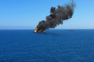 Ship-on-fire