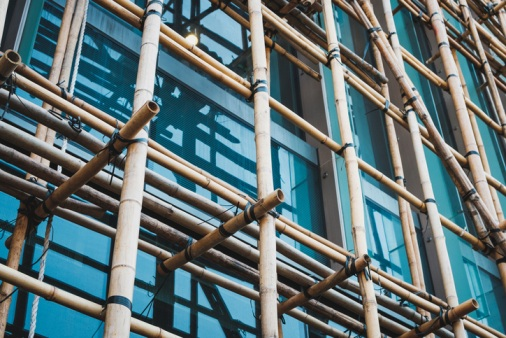 Bamboo-construction