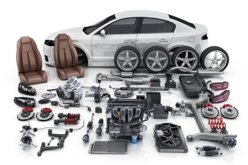 green-car-parts