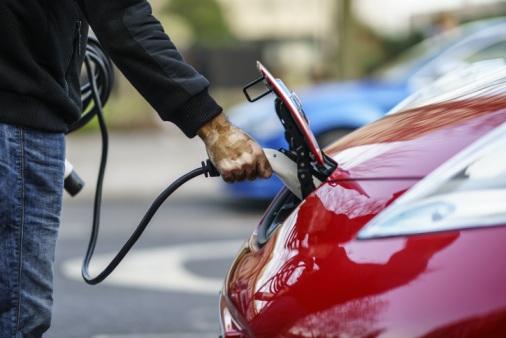 Charging-Electric-Car