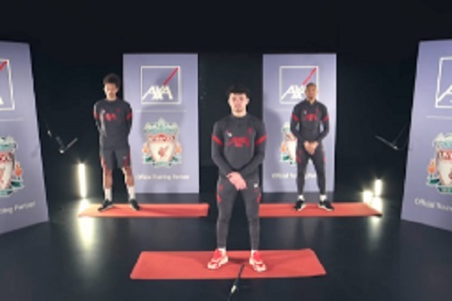Liverpool-FC-players-host-fitness-class-as-part-of-new-AXA-campaign