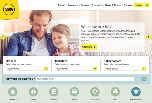 ARAG-launches-contemporary-new-website