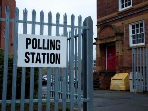 polling-station-for-election