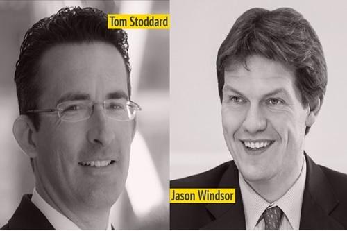 Aviva's Tom Stoddard and Jason Windsor
