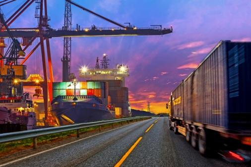 Truck-in-port